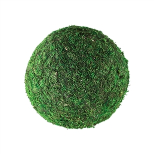 "8"" MOSS SPHERE, 4/CASE"
