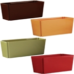 "4"" x 9"" Tapered Rectangle, Safari Assortment,  Pack Size: 12"
