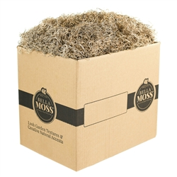 BELLA MOSS, DRIED SPANISH MOSS 5LB BULK