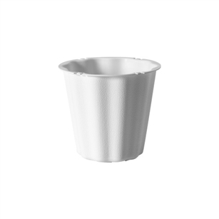 "The Versatile 5 1/2"" Container, White,  Pack Size: 48"