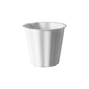 "The Versatile 6"" Container, White,  Pack Size: 48"