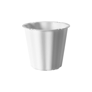 "The Versatile 6 1/2"" Container, White,  Pack Size: 36"