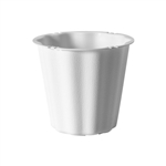 "The Versatile 7 1/2"" Container, White,  Pack Size: 24"