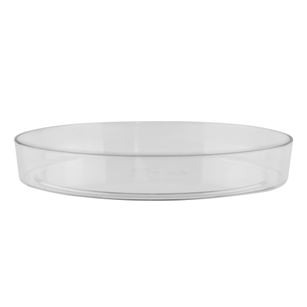 "11"" Designer Tray, Crystal,  Pack Size: 12"