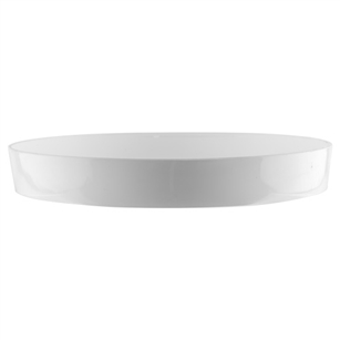 "11"" Designer Tray, White,  Pack Size: 12"