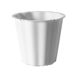 "The Versatile 9"" Container, White,  Pack Size: 12"