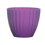 "4 3/8"" Parasol Vase, Grape,  Pack Size: 24"