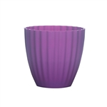 "5 3/8"" Parasol Vase, Grape,  Pack Size: 18"