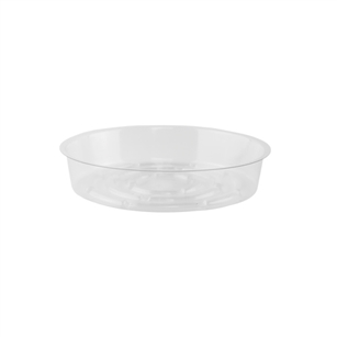 "6"" Saucer, Crystal,  Pack Size: 600"