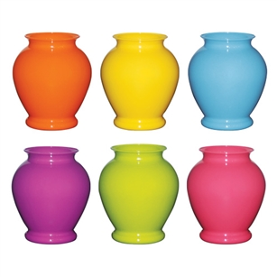 "5"" Ginger Vase, Popsicle Assortment,  Pack Size: 24"