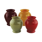"5"" Ginger Vase, Safari Assortment,  Pack Size: 24"