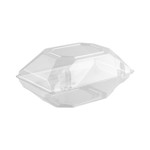 "9""x5""x4""  Corsage Box, Crystal,  Pack Size: 100"