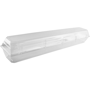 "32""x6""x5""Cut Flower Box, Crystal,  Pack Size: 25"