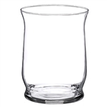 "6"" Hurricane Vase, Crystal,  Pack Size: 4"