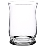 "8"" Hurricane Vase, Crystal,  Pack Size: 4"