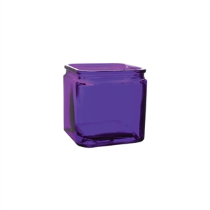 "5"" x 5"" x 5"" Square, Violet,  Pack Size: 12"