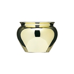 "4 1/2"" Jardiniere, Gold,  Pack Size: 12"