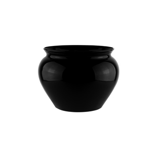 "4 1/2"" Jardiniere, Black,  Pack Size: 24"