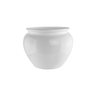 "4 1/2"" Jardiniere, White,  Pack Size: 24"
