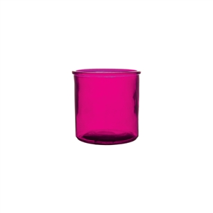 "4"" x 4"" Cylinder, Raspberry,  Pack Size: 12"