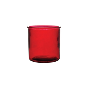 "4 5/8"" x 4 3/4"" Cylinder, Ruby,  Pack Size: 12"