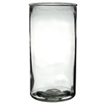 "4"" x 8"" Cylinder, Crystal,  Pack Size: 12"