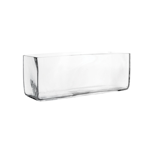 "11 3/4""x4""x4 1/2"" Rectangle, Crystal,  Pack Size: 4"