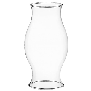 "10"" Chimney, Crystal,  Pack Size: 12"