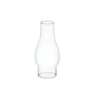 "8 1/2"" Chimney, Crystal,  Pack Size: 12"