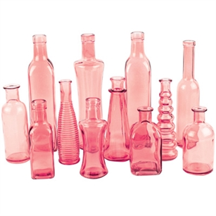 Vintage Bottle Collection, Vintage Pink,  Pack Size: 24