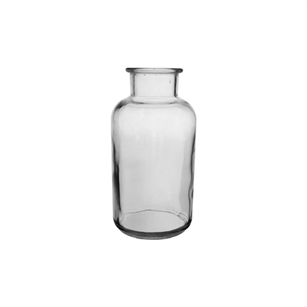 "5"" Apothecary Bottle, Crystal,  Pack Size: 24"