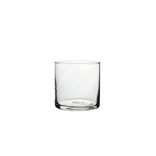 "4"" x 4"" Cylinder, Crystal,  Pack Size: 12"