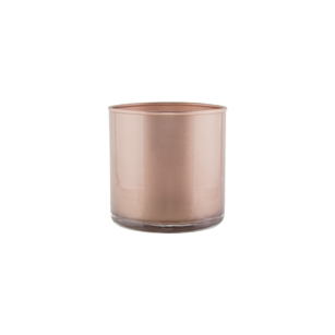 "4"" x 4"" Cylinder, Rose Gold,  Pack Size: 12"
