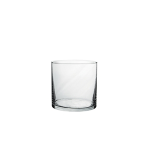 "5"" x 5"" Cylinder, Crystal,  Pack Size: 12"