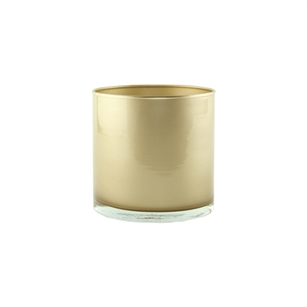 "5"" x 5"" Cylinder, Champagne,  Pack Size: 12"