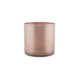 "5"" x 5"" Cylinder, Rose Gold,  Pack Size: 12"