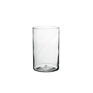 "5"" x 10"" Cylinder, Crystal,  Pack Size: 6"