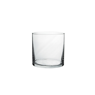 "8"" x 4"" Cylinder, Crystal,  Pack Size: 6"