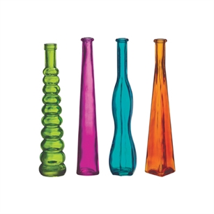 "12"" Bud Vase Asst, Fiesta Assortment,  Pack Size: 24"