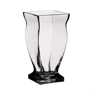 "9 3/4"" Regal Vase, Crystal,  Pack Size: 4"