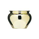 "6 1/2"" Jardiniere, Gold,  Pack Size: 6"