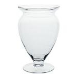 "8 1/2"" Windsor Vase, Crystal,  Pack Size: 6"