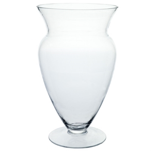 "11 5/8"" Windsor Vase, Crystal,  Pack Size: 4"