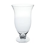 "10 3/8"" Mia Vase, Crystal,  Pack Size: 4"