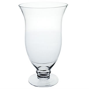 "15 3/4"" Mia Vase, Crystal,  Pack Size: 2"