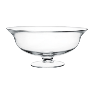 "5"" Footed Bowl, Crystal,  Pack Size: 2"