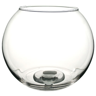 "8"" Bubble Ball, Crystal,  Pack Size: 6"
