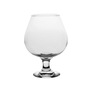 "6"" Embassy Brandy, Crystal,  Pack Size: 12"