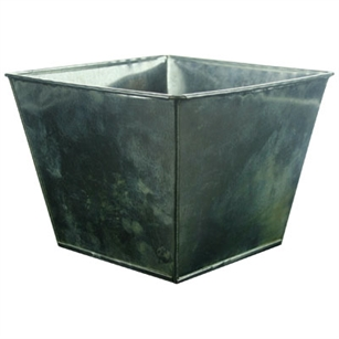 "7 3/8"" Tapered Square, Galvanized,  Pack Size: 24"