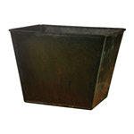 "7 3/8"" Tapered Square, Copper,  Pack Size: 24"